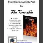 The Crucible Post-Reading Pack