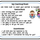 The Daily 5-Coaching Sheet