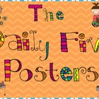 The Daily Five Posters- Bright