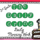 The Daily Grind Bundle- Morning Work for 3rd and 4th Grade