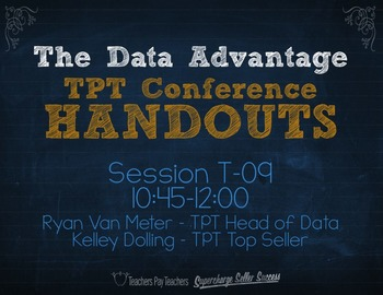 The Data Advantage: Optimize Your Store {TPT Session T09}