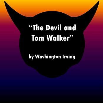 the devil and tom walker examples of romanticism