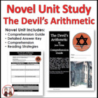 The Devil's Arithmetic Reading Comprehension Activity Guide