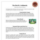 The Devil's Arithmetic Reading Projects and Activities wit