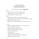 The Devil's Arithmetic Study Guide Chapters 1-4