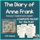 The Diary of Anne Frank Play - Student-Ready Complete Packet