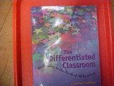 """The Differentiated Classroom"" by C. Tomlinson"