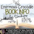 The Enormous Crocodile Book Info Sheet Freebie