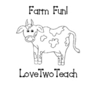 The Farm and Animals:  Literacy and Math Fun