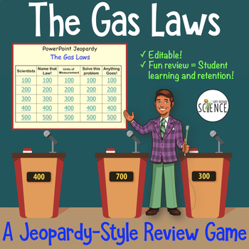 The Gas Laws Jeopardy Game
