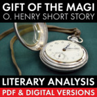 The Gift of the Magi, two-day lesson, O. Henry's short sto