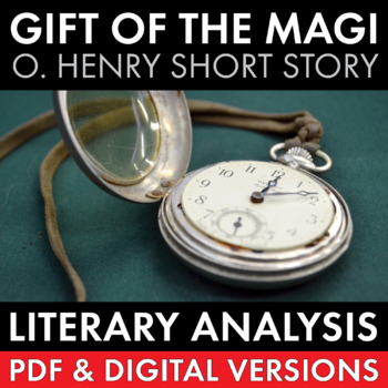 The Gift of the Magi, two-day lesson, O. Henry's short story of love & irony