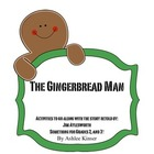The Gingerbread Man- Comprehension, Letter Writing and More