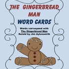 The Gingerbread Man Word Flashcards