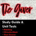 The Giver Unit Test (College Prep) with Answer Key!