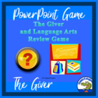 The Giver and Language Arts Review PowerPoint Game