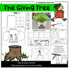 The Giving Tree Unit { ELA, Math, Writing, Snack, CCSS }