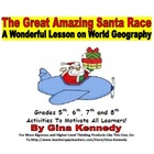 The Great America Santa Race World Geography Map Skills, E