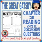 The Great Gatsby Chapter 3 Activity