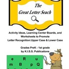 The Great Letter Search Letter Recognition Activity Set
