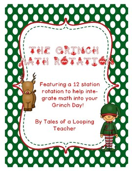 The Grinch Math Rotation Word Problems