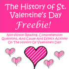 The History of St. Valentine's Day FREEBIE!!!!!!!!!