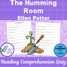 The Humming Room A Bluebonnet Award Nominee Comprehension Quiz