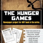Hunger Games- Newspaper Project