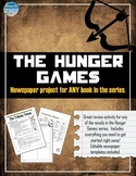 Hunger Games - Newspaper Project (Also for Catching Fire /