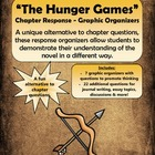 The Hunger Games - Novel / Chapter Response Graphic Organizers