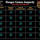 The Hunger Games Review Game Powerpoint Bundle
