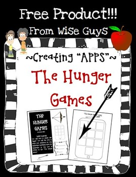 "FREE The Hunger Games Create Your Own ""APPS"" Reading Activity"