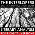 The Interlopers, Saki, 45-min. lesson, lit. analysis & wri