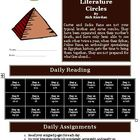 The Kane Chronicles: The Red Pyramid Literature Circles Activity