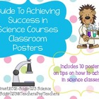 The Keys To Success in Science Classroom Posters