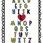 The Kindergarten Teacher Alphabet!