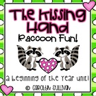 The Kissing Hand - Raccoon Fun - Common Core Standards Included