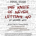 The Knife of Never Letting Go by Patrick Ness Final Exam