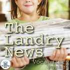 The Landry News Vocabulary Packet w/ Quiz