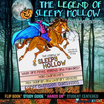 The Legend of Sleepy Hollow: Reading, Writing, Craftivity, and Flip Book