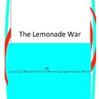 The Lemonade War Book Unit with Literary and Grammar Activities