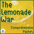 The Lemonade War Comprehension Question Packet