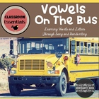 The Letter Bus: Vowel Song and Handwriting Practice