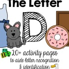 The Letter D Pack {Letter Recognition and Identification}