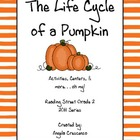 The Life Cycle of a Pumpkin Reading Street Grade 2 2011 Series