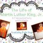 The Life of Martin Luther King, Jr. {A Timeline Craftiviti