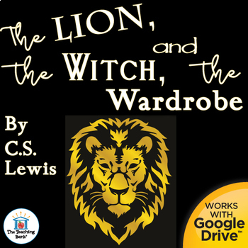 The Lion, the Witch, and the Wardrobe Novel Unit~Common Core