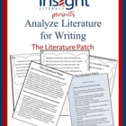 The Literature Patch 50 Quotes Mentor Text for Writing Analysis