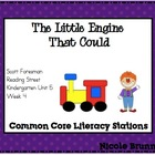 The Little Engine Reading Street Unit 5 Week 5 Common Core
