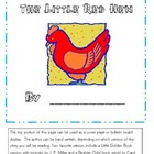 The Little Red Hen (variety of activities)